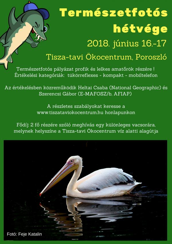 TERMÉSZETFOTÓS HÉTVÉGE JÚNIUS 16-17.
